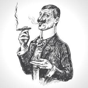 Fig D. Vos luttes partent en fumée. Alain Bashung.