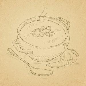 Couille dans le potage