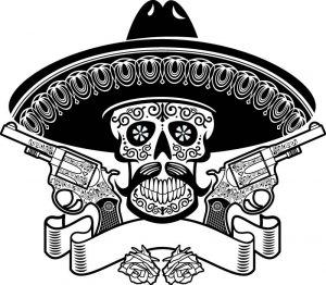Fig. 1. Viva Zapata y viva la revolución.