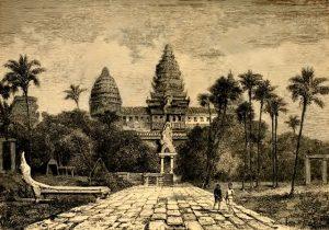 Fig. 1. Angkor Vat, dessin de Henri Mouhot, 1860