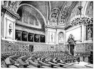 Rendre visite au Président du Sénat