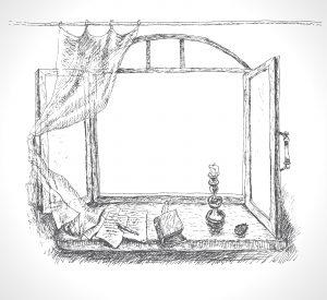 Avoir le rideau coincé dans la fenêtre
