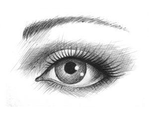 Avoir l'œil qui frise