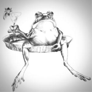 Faire le métier de la grenouille
