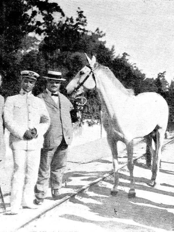 En parler à son cheval [â parlé a sô Seval]