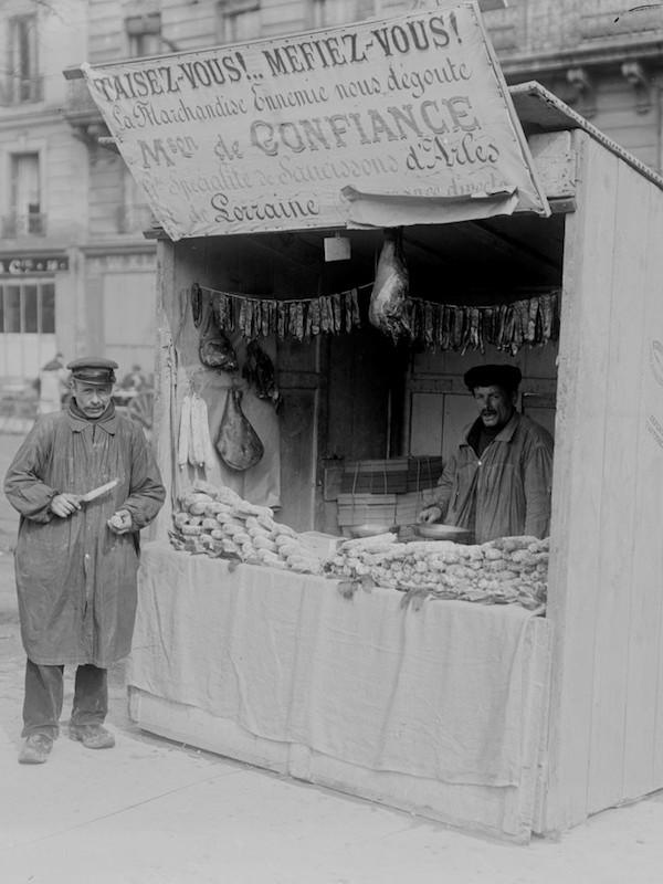 Avoir mangé du saucisson de Martigues [avwar mâZé dy sosisô de martiɡ]