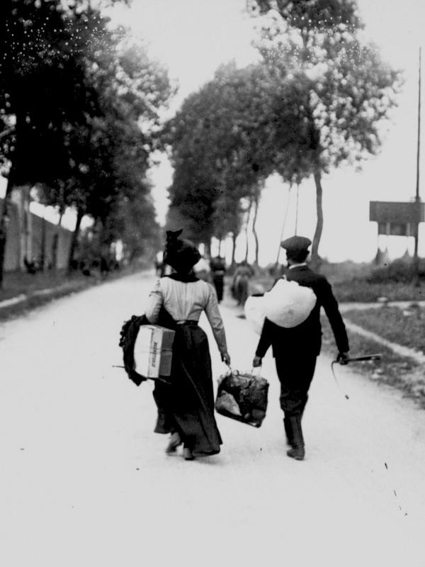 L'exode en 1940